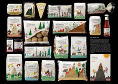 Packagin - embalagens - ilustrações
