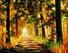 THE SOUL OF THE FOREST by Leonid Afremov