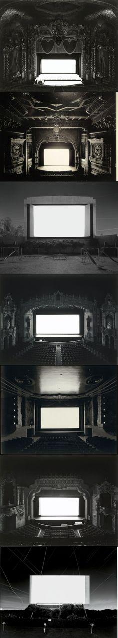 Theatres by Hiroshi Sugimoto