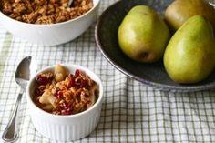 Pear Almond Crisp Recipe