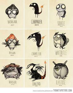 Si les pokemon avaient été imaginé par Tim Burton.