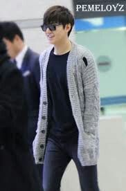2012-11-19 at Incheon Airport from Manila | Lee Min Ho