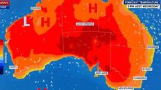 Australia is on track to record its hottest day ever  Australia could set a new record next week (16 December 2019) for the country's hottest day ever.  The Bureau of Meteorology has warned that an unprecedented heatwave in Western Australia could make its way east and bring searing temperatures of more than 45C across much of southern Australia over the next week or so.