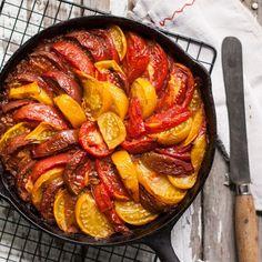 Heirloom Tomato-Rice Bake