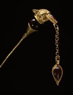 Epingle héllenistique avec tête de lynx, 1er siècle av JC