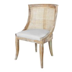 Curved Cane Chair U2014 Natural