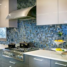 White cabinets black subway tile black granite - Penthouse peakmichael gallagher and new mood design ...