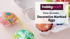 Create marbled dye effects on Easter eggs for a spectacular spring celebrations! Learn how to make the colourful marbled eggs with a simple method that you c. Hobbies And Crafts, Crafts For Kids, Arts And Crafts, Wooden Crafts, Paper Crafts, Egg Dye, Dragon Egg, Harry Potter Birthday, Magical Creatures