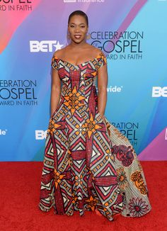 India Arie - 11 times celebrities slayed in African print African Attire, African Wear, African Dress, African Fashion, African Clothes, African Style, Ghanaian Fashion, Ankara Fashion, African Beauty