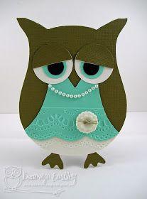 addINKtive designs: Coastal Cabana Owl for Perfectly Rustics
