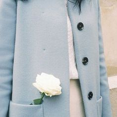 Soft Winter Fashion / Baby Blue