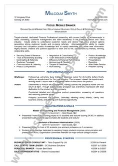 An Effective Chronological Resume Sample  An Effective