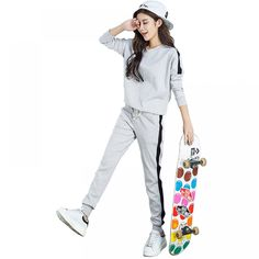 68a4c2dd064 Casual Long Sleeve Tracksuits Price  50.84   FREE Shipping  sport  yoga   workout
