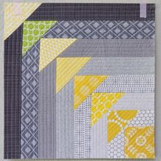 Teeny Tiny Triangles Quilt Block | Free Quilt Tutorial | FaveQuilts.com