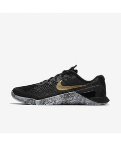 lowest price 8c65b ca15a Nike Metcon 3 AMP Black Wolf Grey Metallic Gold 849808-003 Or Métallique,  Chaussures