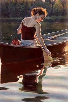 Danielle Richard ~ Hyperrealist painter | Tutt'Art@ | Pittura * Scultura * Poesia * Musica |