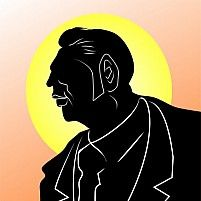 Illustration Of A Silhouette Of Man Standing