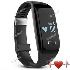 H3 Smart Bracelet with Display Call SMS Reminder Pedometer Mileage Calorie Sleep Heart Rate Monitor IP69 Alarm E-510381