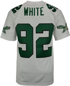 1c84a994a Mitchell   Ness Men s Reggie White Philadelphia Eagles Replica Throwback  Jersey