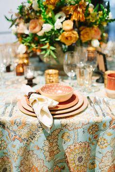 La Tavola Fine Linen Rental: Clifton Hall Opal with Tuscany Eggshell Napkins | Photography: Megan Clouse, Votives and Napkin Rings: @theoninapa