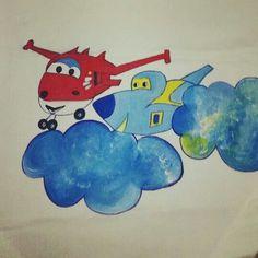 Uçak Runner boyama