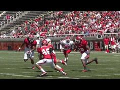 Video clips from the 2012 Utah Football Red/White game