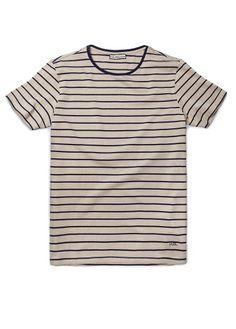 H.E. by MANGO - Cotton striped t-shirt