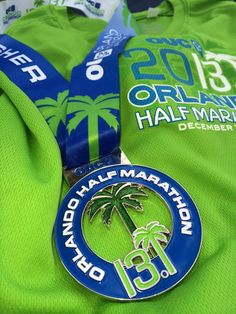 Bring on the bling!  Join us for the half marathon in December 2013! #OUCHalf