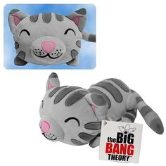 The Big Bang Theory Soft Kitty Singing Plush. Soft kitty, warm kitty, little ball of fur, happy kitty, sleepy kitty, purr, purr, purr! Not only does this awesome plush kitty actually sing this amazing song, but it is also a plush kitty. If you're a fan of The Big Bang Theory, or if you just love kitties, this is a must own plush toy. Cuddle up to it and dream all the geeky dreams your heart desires. Must remove plastic tag from bottom to initiate sound.