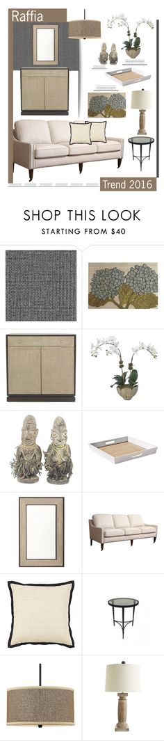 """""""Raffia'"""" by dianefantasy ❤ liked on Polyvore featuring interior, interiors, interior design, home, home decor, interior decorating, Andrew Martin, Pier 1 Imports, Mitchell Gold + Bob Williams and Diane James"""