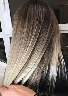 Balayage Hair Color Blends for Women 2019