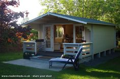 Dingle Nook, Cabin/Summerhouse shed from Ireland   Readersheds.co.uk