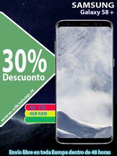 SAMSUNG GALAXY S8 PLUS 64GB plata !♥ envío gratis !♥  ►comprar ahora: https://lnkd.in/fdnKyQD #vikishop #samsungs8plus #s8plusespaña #s8menosprecio #galaxys8plus #samsungespaña #envíogratis #s8España