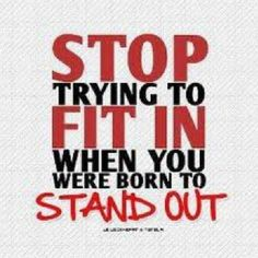 stop trying to fit in when you were born to stand out  #reality #life #living #selflove #MuscleUps#body #fit #fitness #muscle #muscles #gainz #gym #fitfam #gymflow #detox #healthyliving #living #sports #train #healthy #fitnessbodymovement #exercise #workout #yoga #yogi #diet #dieting #plussizebarbie #plushpal #her  http://ift.tt/1Lvko4Q  @fitnessbodymovement @fitnessbodymovement @fitnessbodymovement @fitnessbodymovement @fitnessbodymovement @fitnessbodymovement