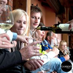 Wine tasting at Gambino vini