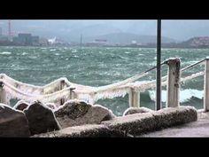 GELO E BORA a Trieste, 14 sotto zero, vento a 200 l'ora - Guardalo