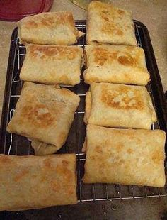 cooking recipes 2016 : Baked Chicken Chimichangas