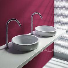 Sfera 45 - per il bagno con il lavabo interno
