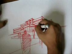 ▶ A 10-minute Sketch (Perspective Drawing) - YouTube