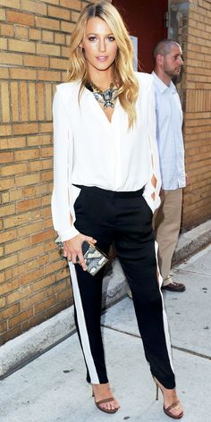 I want pretty: LOOK- Outfits en blanco y negro/ Black outfits.