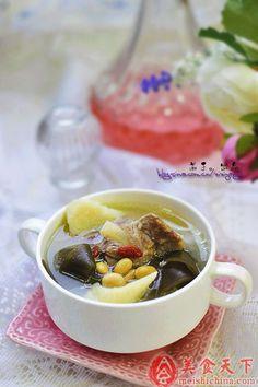 海带山药排骨汤