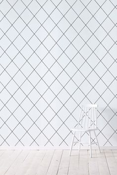 Wallpaper by ellos Karen-tapetti, harmaa