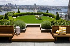 7 Fantastic Rooftop Gardens in Different Styles