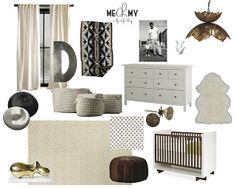 adorable boy nursery!... love the crib and some of the accessories