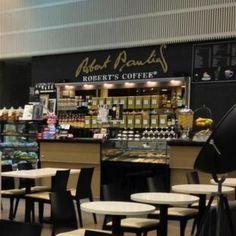 """Helsinki: 19 Robert's Coffee kahvilaa, mm. päärautatieaseman kahvila. Vuonna 1987 perustettu Robert's Coffee on suomalainen kahvilaketju, joka omaa oman, huippulaatuisen gourmet-paahtimonsa. Tsekkaa esim. Sähkötalo: """"ainakin joitakin pistokkeita, wlan, rauhallinen ja valoisa tila. Hyvä kahvi"""" via Anu Valkeajärvi"""