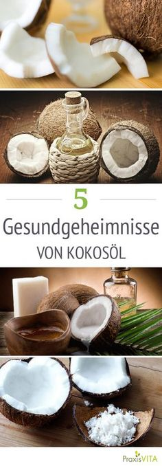 Kokosöl ist gut für die Haut und hilft uns beim Abnehmen!