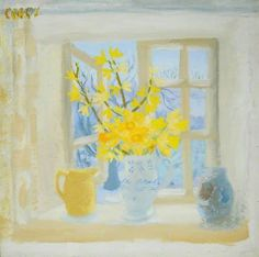 Your Paintings - Winifred Nicholson paintings Paintings I Love, Your Paintings, Flower Paintings, Art Floral, Winifred Nicholson, Still Life Flowers, Art Uk, Art Party, Mellow Yellow
