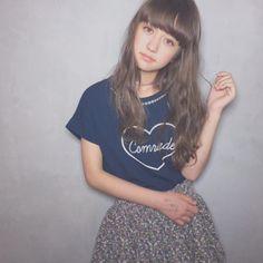 「salonmodel💖 表参道 Blessさん🌟 hairmake @bless_tokita #salonmodel #hairmodel #tokyo #japanese #中学生 #12歳」 木村ユリヤ