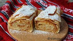 simonacallas - Desserts, sweets and other treats Strudel, Hungarian Recipes, Romanian Recipes, Romanian Food, Fun Cup, Apple Pie, Sweets, Bread, Food And Drink