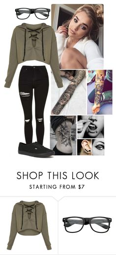 """""""Bryn"""" by winniemjones ❤ liked on Polyvore featuring ZeroUV and Vans"""